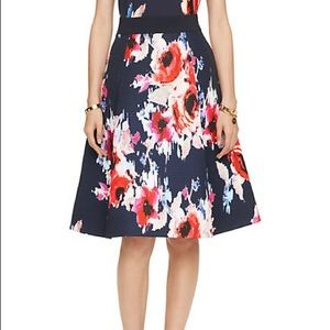 Kate Spade Hazy Floral Skirt